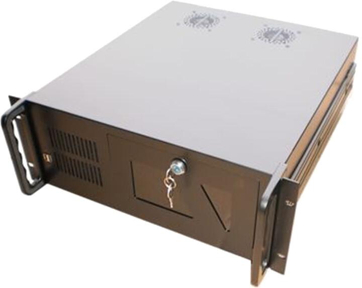 """DATACOM 19"""" IPC, skříň do racku, 580mm, černá"""