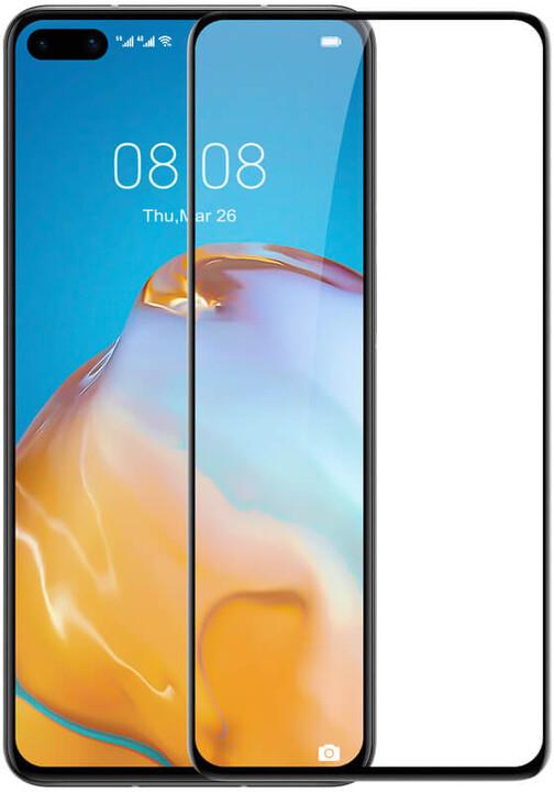 Nillkin tvrzené sklo CP+ PRO pro Huawei P40, 2.5D, černá