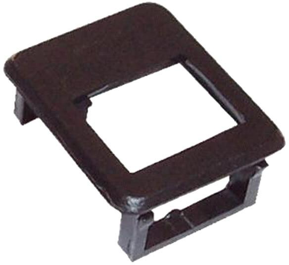 DATACOM rámeček pro keystone do modulár.patch panelu, černá