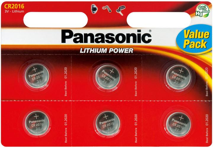 Panasonic baterie CR-2016 6BP Li