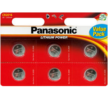 Panasonic baterie CR-2016 6BP Li - 35049306