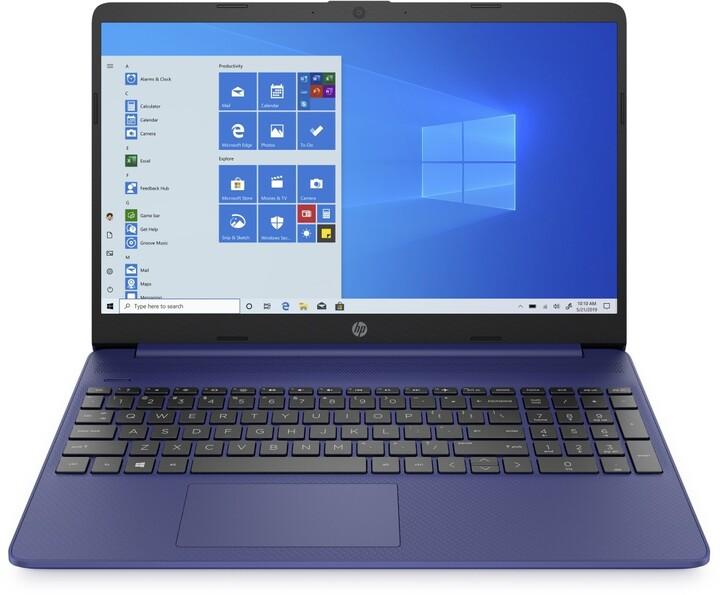 HP 15s-eq1005nc, modrá