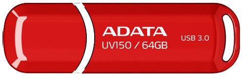 ADATA UV150 64GB, červená