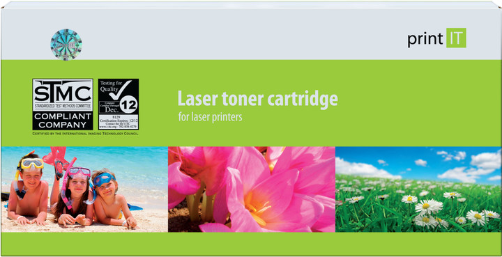 PRINT IT alternativní toner pro HP CF382A, žlutá