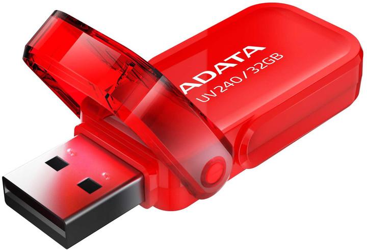 ADATA UV240 8GB červená