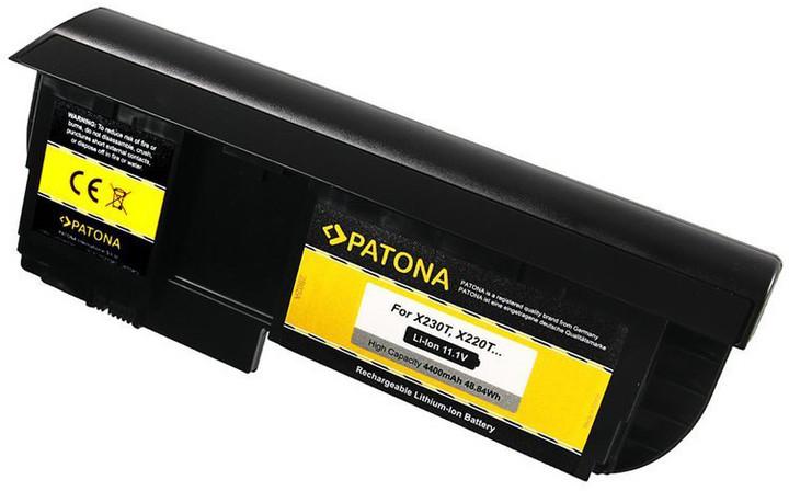 Patona baterie pro ntb LENOVO ThinkPad notebook tablet X220T 4400mAh Li-lon 11,1V
