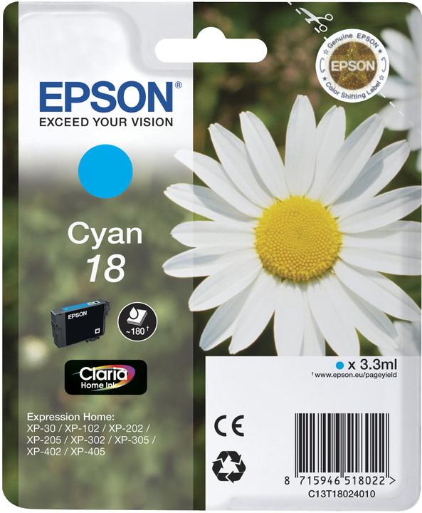 Epson C13T18024010, cyan
