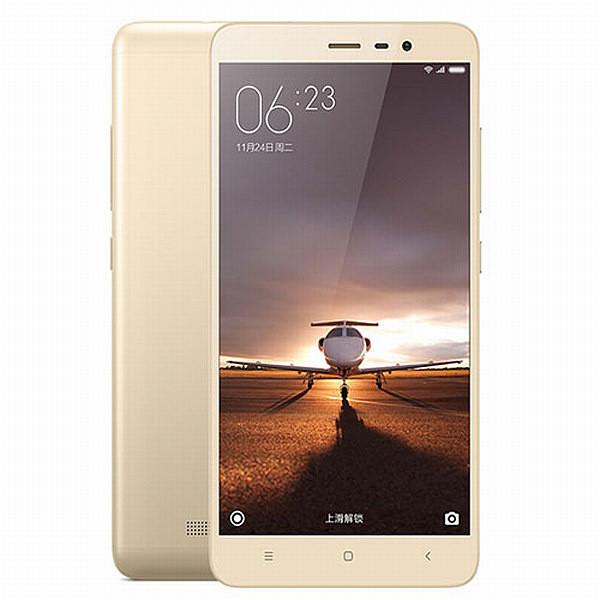 Xiaomi Note 3 LTE - 16GB, zlatá