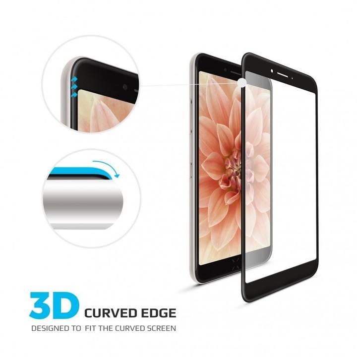 FIXED 3D Full-Cover ochranné tvrzené sklo pro Apple iPhone 7 Plus/8 Plus, černé
