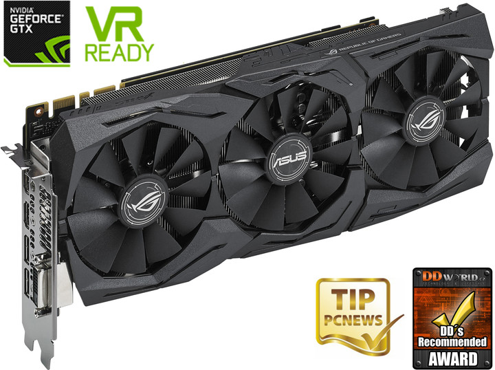 ASUS GeForce GTX 1080 ROG STRIX-GTX1080-A8G-GAMING, 8GB GDDR5X