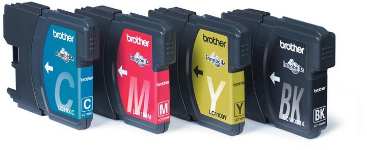 Brother LC-1100 VALBP, multipack černá+C+M+Y