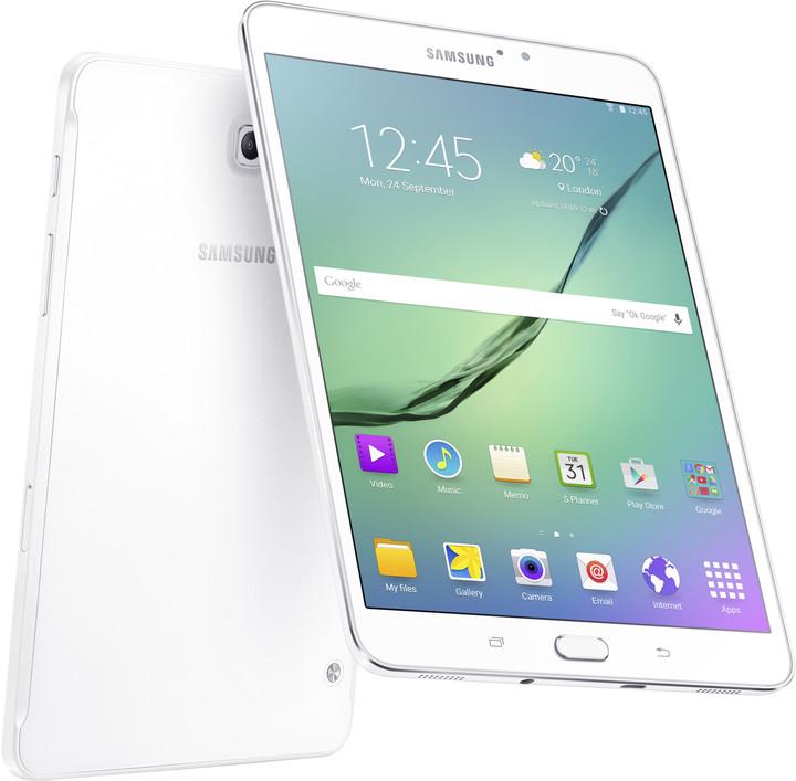 """Samsung Galaxy Tab S2, 8.0"""" - 16GB, bílá"""