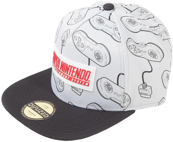 Kšiltovka Nintendo - Super Nintendo
