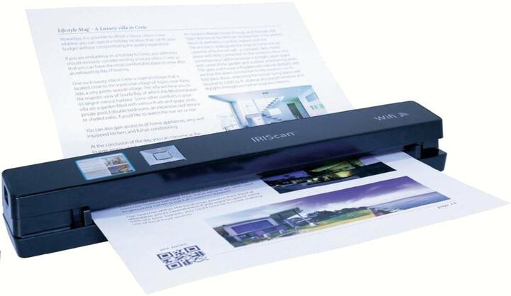 IRIS skener IRISCan Anywhere 3 WIFI - přenosný