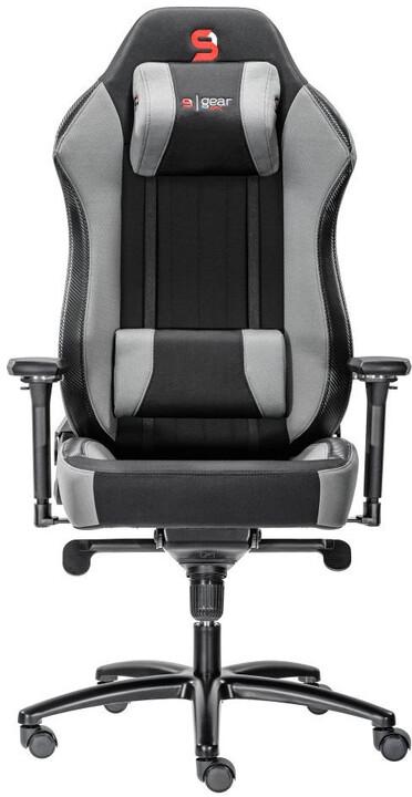 SPC Gear SR700F GY, textilní, šedá