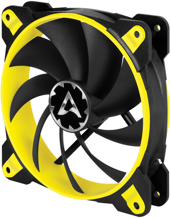 Arctic BioniX F120, eSport fan, žlutá - 120mm
