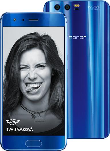 Honor 9, modrá