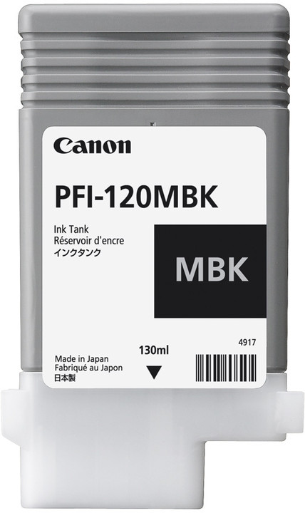 Canon PFI-120MBK, matte black