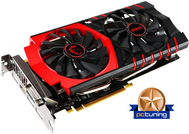 MSI GTX 950 GAMING 2G, 2GB