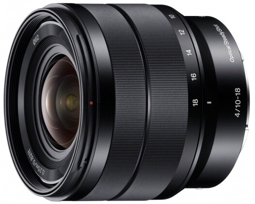 Sony E 10–18mm f/4 OSS