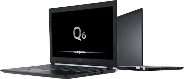 EUROCOM Q6, černá