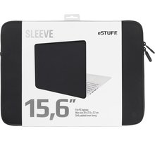 "eSTUFF pouzdro na notebook 15,6"", černá ES82253-BLACK"