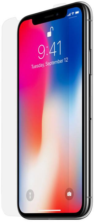 Belkin Accessory Glass 2 - Corning ochrana displeje pro iPhone X, s instalačním rámečkem