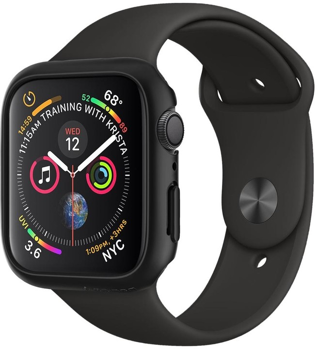 Spigen Thin Fit Apple Watch 4 40mm, černá