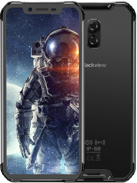 iGET Blackview GBV9600 Pro, 6GB/128GB, černá