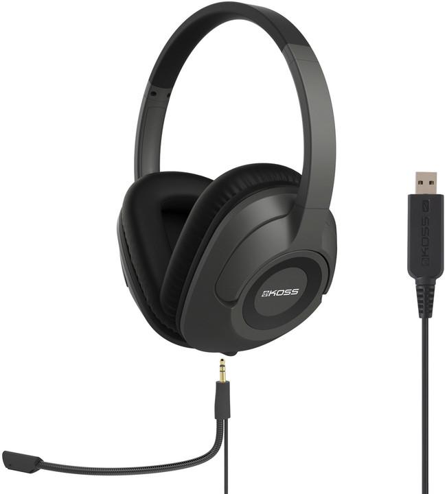 KOSS SB42 USB, černá