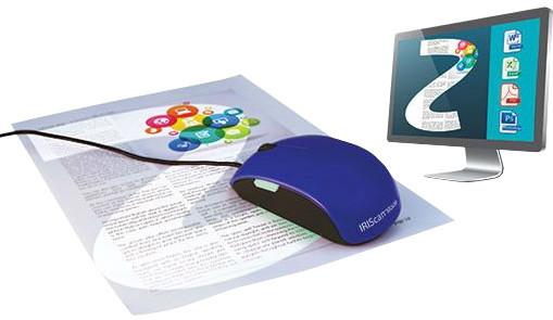 IRIS skener IRISCAN Mouse 2 - myš s funkcí skeneru