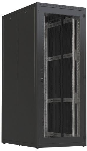 """CONTEG 4X Serverový rozvaděč 19"""", 600x1200mm, 42U, zatížení 1000kg, černá"""