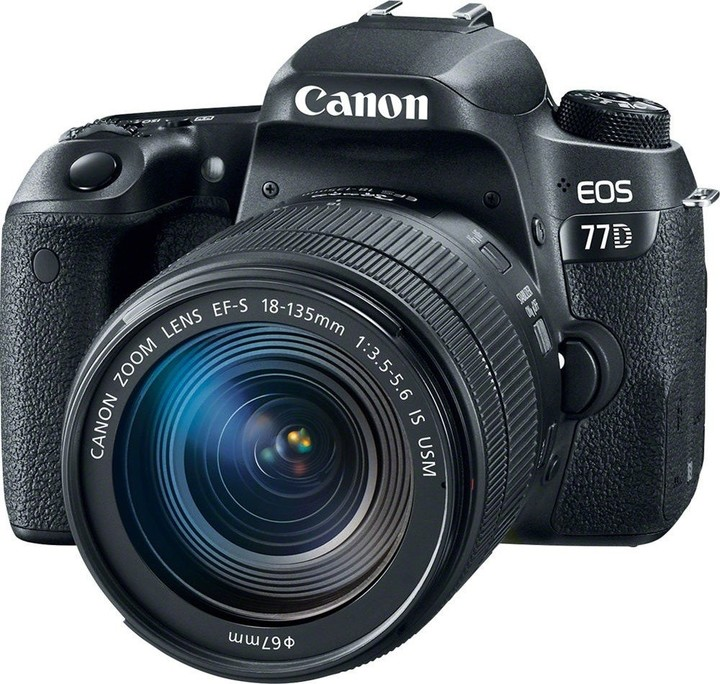 Canon EOS 77D + EF-S 18-135mm IS USM Value Up Kit