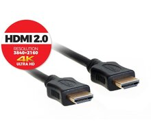 AQ KVH015 HDMI - HDMI, M/M, 2.0 4K, High speed, Ethernet, 1.5m, černá
