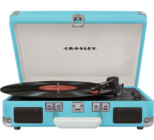 Crosley Cruiser Deluxe, tyrkysová