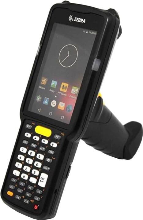 Zebra MC3300, WLAN, BT, GUN, 2D, 38 KEY, Wi-Fi