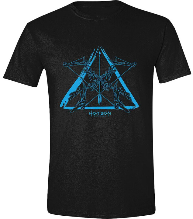 Tričko Horizon: Zero Dawn - Blue Logo (S)