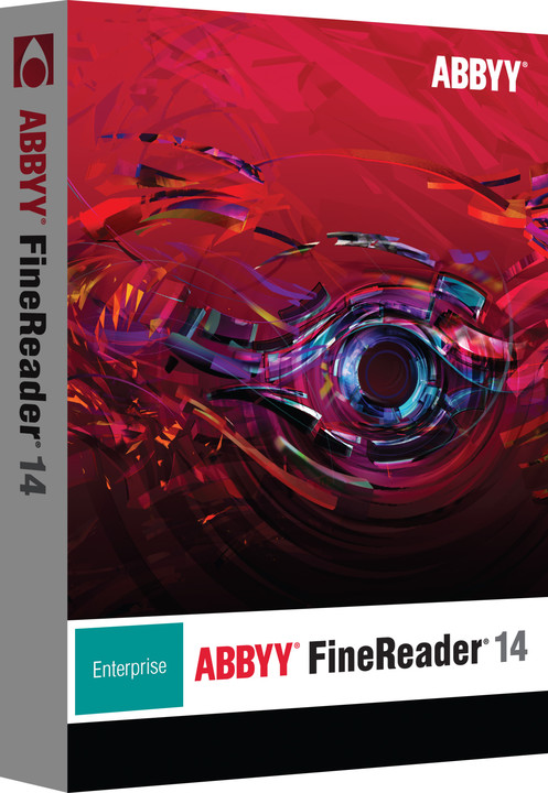 ABBYY FineReader 14 Enterprise / BOX / CZ Upgrade