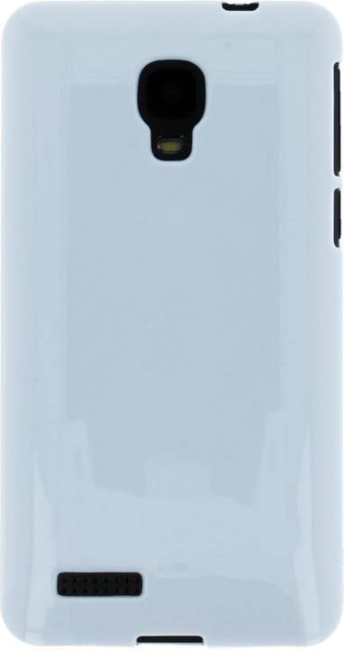myPhone silikonové pouzdro pro Mini, bílá