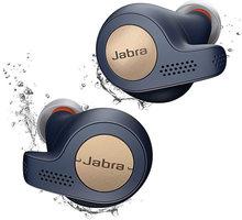 Jabra Elite Active 65t, měděně modrá  + Káva Colombia Supremo, 250g v hodnotě 100 Kč