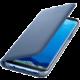 Samsung S8+, Flipové pouzdro LED View, modrá