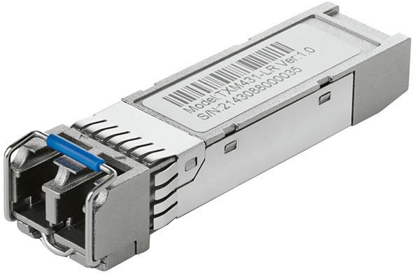 TP-LINK TXM431-LR 10Gbase-LR SFP+ LC Transceiver, 1310nm SM, 10km