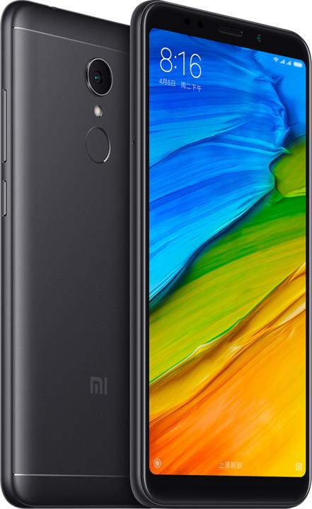 Xiaomi RedMi 5 CZ LTE - 16GB, černá