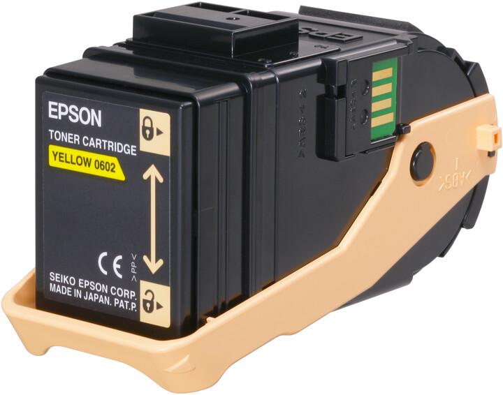 Epson C13S050602, žlutá