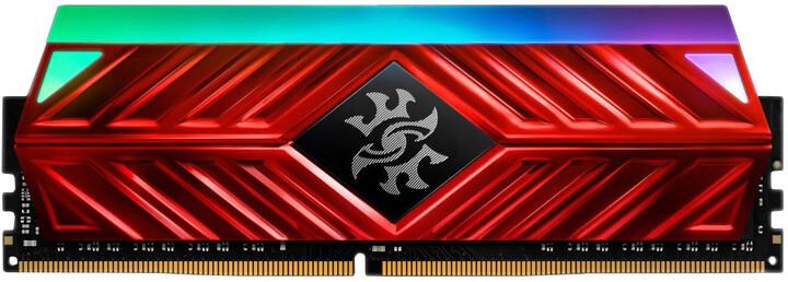 ADATA XPG SPECTRIX D41 8GB DDR4 3600, červená