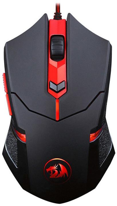 Defender Redragon Centrophorus, černá/červená