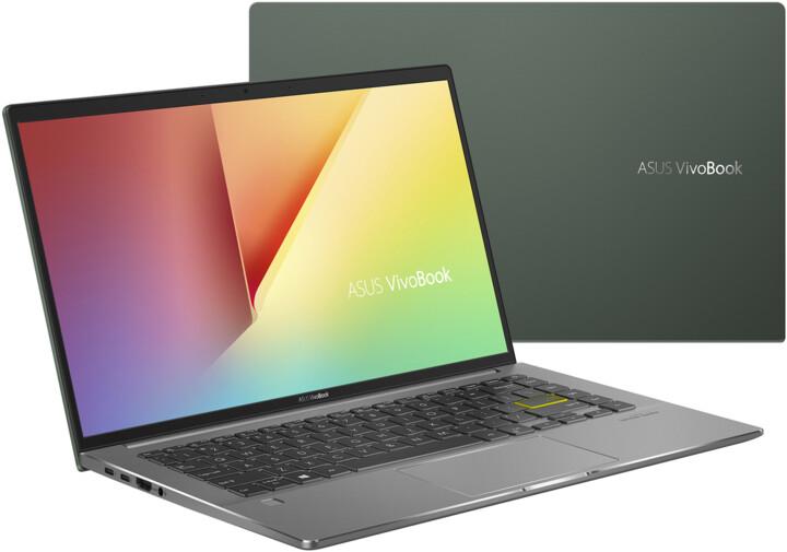 ASUS VivoBook S14 S435EA, zelená
