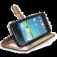 CELLY Wally pro Samsung Galaxy Core Plus, PU kůže, černá