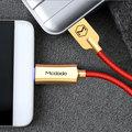 Mcdodo Knight rychlonabíjecí datový kabel USB-C s inteligentním vypnutím napájení, 1,5m, červená