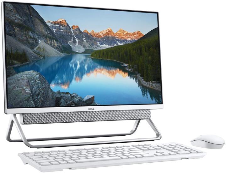 Dell Inspiron 24 (5400), stříbrná